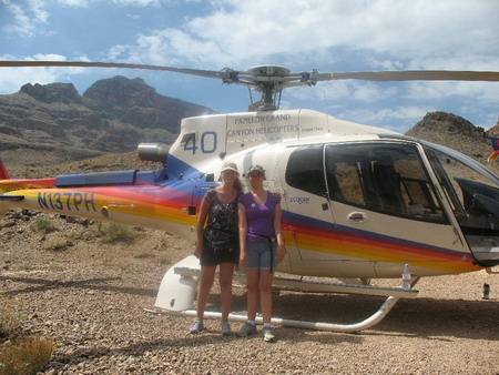 grand canyon helicopter landing tours